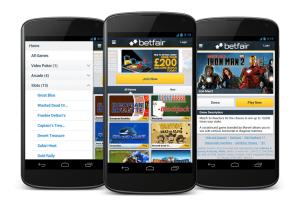 Betfair casino app mobile